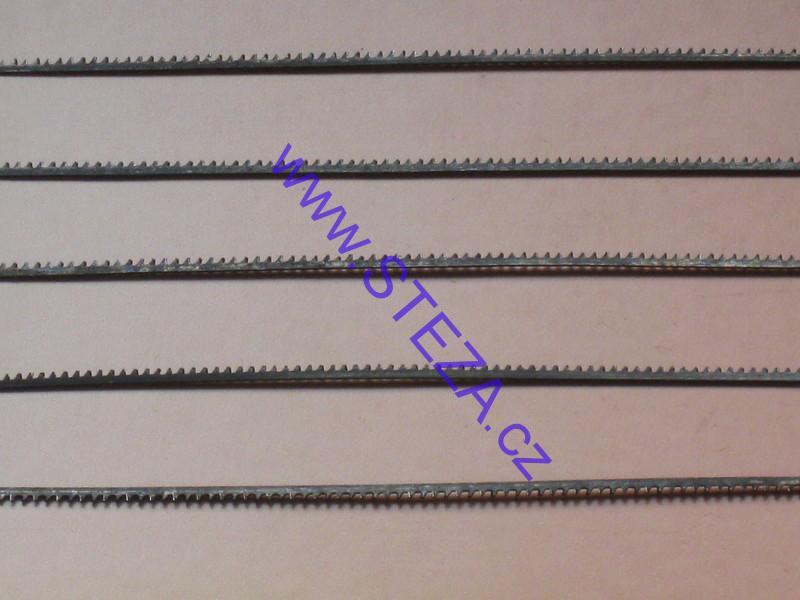 STEZA - Kalená lupínková pila 5ks v balení 0,3mm 75mm (Běžný lupínkový plátek 100 mm)