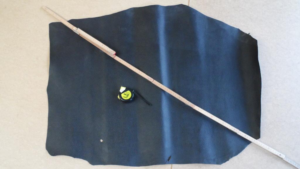 STEZA - Pravá hovězí kůže č.41 - 63dm2 (Hovězí kůže 1,2 mm silná)