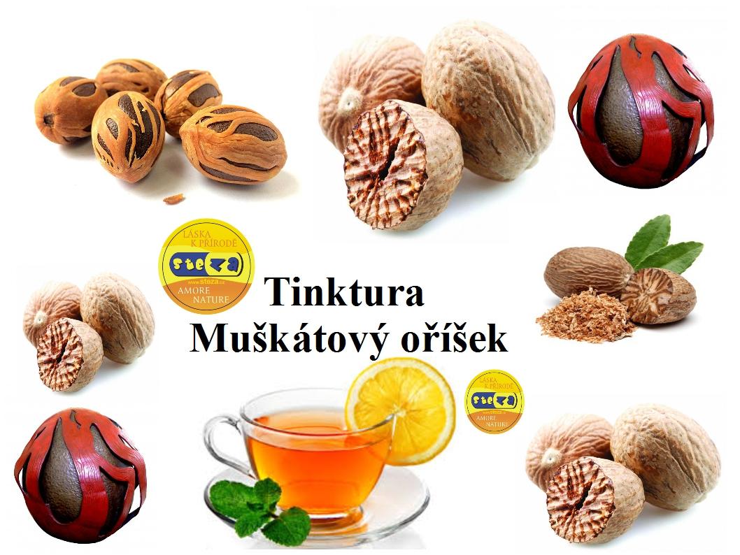 STEZA - Tinktura Muškátový oříšek - forte extra silná 25 ml.