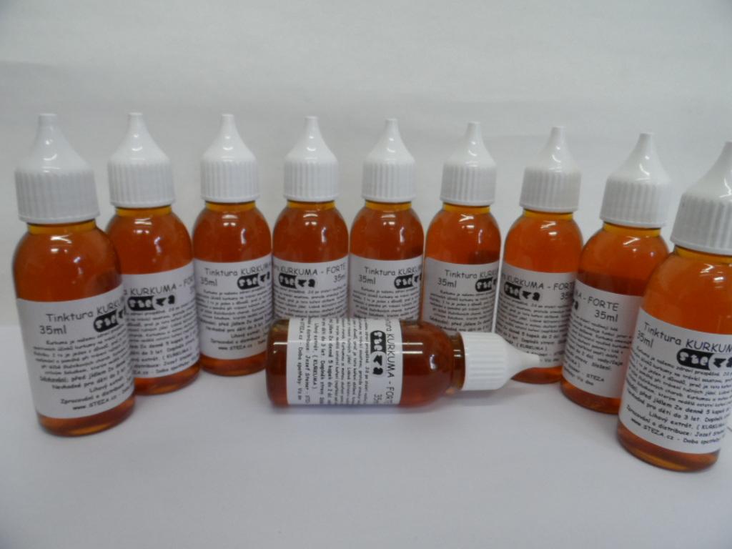STEZA - Tinktura KURKUMA - FORTE 37 ml.