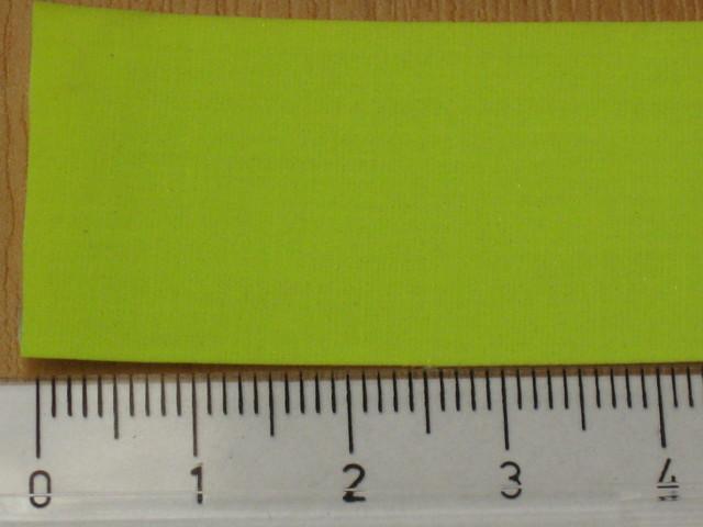 STEZA - Reflexní páska průměr 25mm žlutá (Reflexní páska)