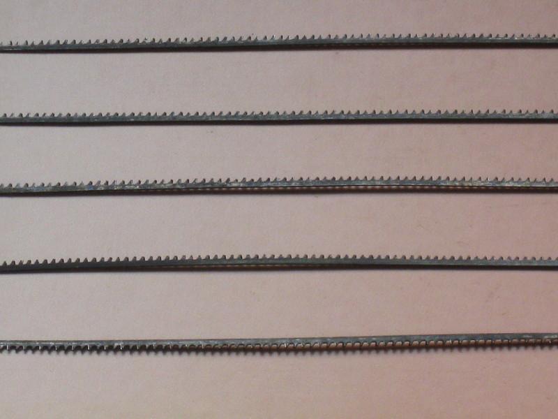 STEZA - Kalená lupínková pila 5ks v balení 1,5mm 75mm (Běžný lupínkový plátek 100 mm)