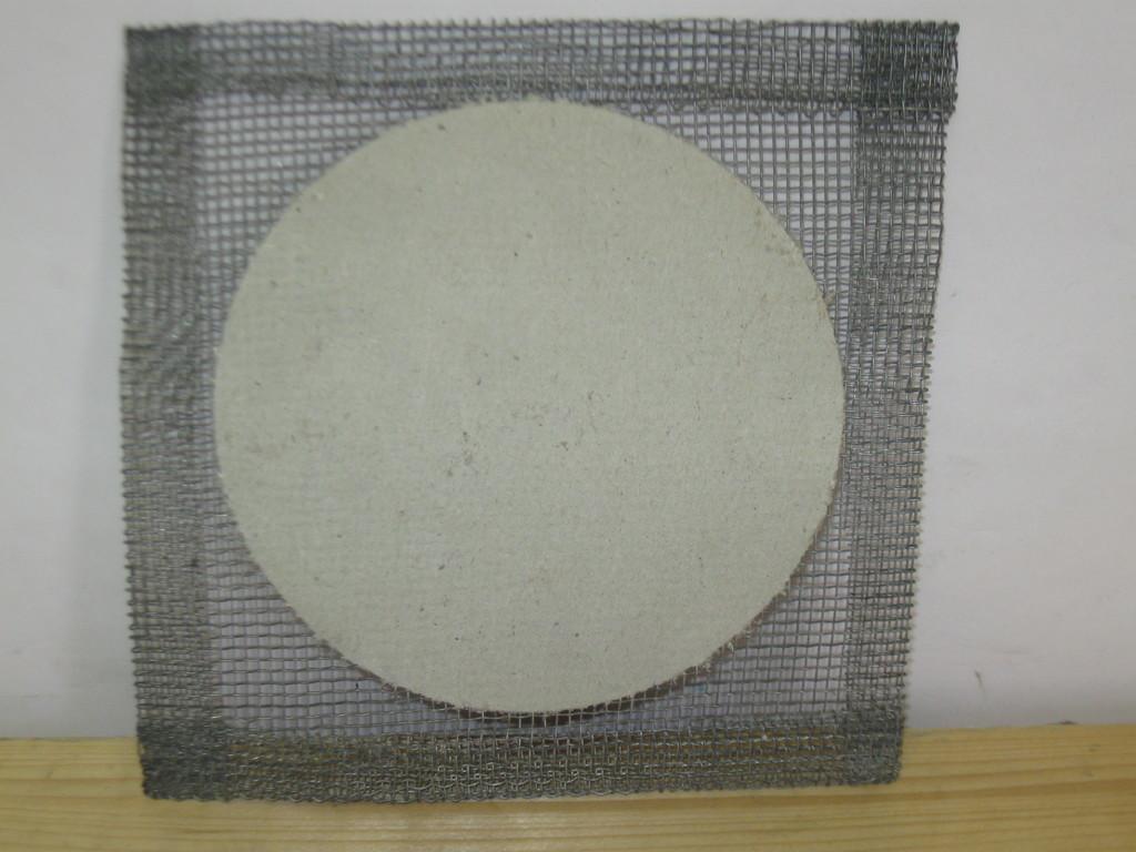STEZA - Kovová síťka nad kahan - azbest, 160x160mm (Užíva se pod: Stojany, držáky, trojnožky apod.)