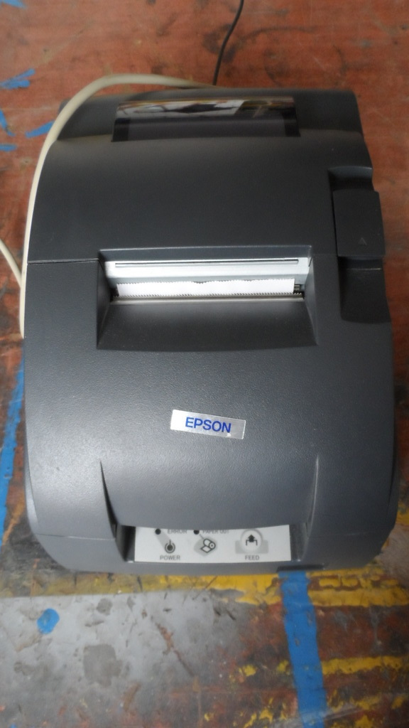 STEZA - Pokladní tiskárna EPSON TM-U220PD (V chodu cca 1 měsíc - POUŽITÁ - model M188D)